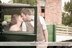 Sweet moment between bride and groom. Love his bow tie. Beautiful couple! www.KeepingComposure.com