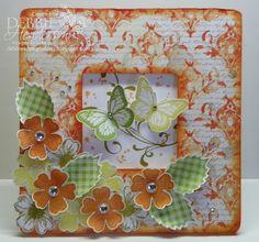 3D Best of Butterflies frame, Stampin' Up! supplies by Debbie Henderson, Debbie's Designs.