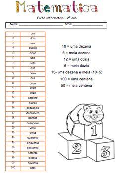 Fichas/atividades 2º ano