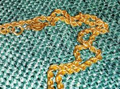 14 Karat Yellow Gold 1/16 inch 1.5 mm Rope Chain 20 inches long, 2.4 grams $80