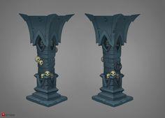 Pillar concept by Gimaldinov.deviantart.com on @deviantART
