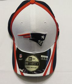NWT New Era New England Patriots 39Thirty On Field Training Hat Size S/M #NewEra #NewEnglandPatriots