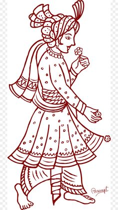 Graphics and Folk Assam: Clipart & Design ক্লিপ আৰ্ট Dulhan Mehndi Designs, Wedding Mehndi Designs, Madhubani Art, Madhubani Painting, Krishna Painting, Embroidery Motifs, Hand Embroidery Designs, Butterfly Embroidery, Embroidery Patterns