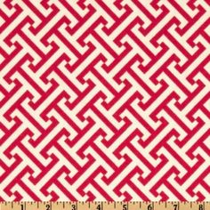 Amazon.com: 54'' Wide Waverly Cross Section Raspberry Fabric By The Yard: Arts, Crafts & Sewing