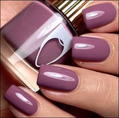 Daily Charme Nail Polish Floss Gloss / Mauve Wives This color with a Matt finish! Cute Nail Colors, Fall Nail Colors, Nail Polish Colors, Gel Nail Polish, Autumn Colours, Winter Colors, Summer Colors, Mauve Nails, Opi Nails