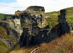 Tintagel Castle, one of our 4 castles you should visit in Cornwall: http://www.thevalleycornwall.co.uk/blog/2015/08/14/4-historic-castles-to-visit-in-cornwall/