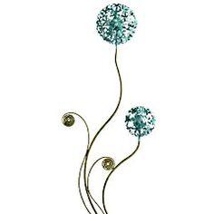 Flower Outdoor Stake - Blue  $24.95 - Pier 1