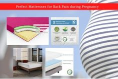 Perfect Mattresses for Back Pain during Pregnancy - The back pain during pregnancy is a common problem. It happens because of the increasing weight and hormonal imbalance in the body. Hormone Imbalance, Mattresses, Back Pain, Pain Relief, Pregnancy, Shit Happens, Healthy, Woman, Pregnancy Planning Resources