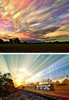 By stacking multiple time lapse photos on top of each other, Canadian photographer Matt Molloy has taken the technique to a whole new level. Btw, we've got an automated Time Lapse Camera that does all of the work for you! http://photojojo.com/store/awesomeness/time-lapse-camera/?utm_content=buffer1c5b1&utm_medium=social&utm_source=pinterest.com&utm_campaign=buffer