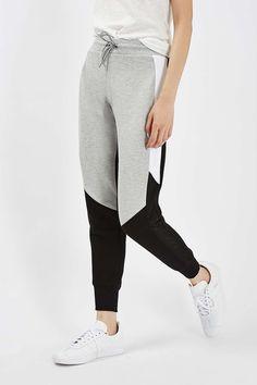 Airtex Colourblock Joggers - Trousers & Leggings - Clothing - Topshop Europe