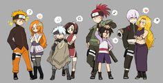 Ichigo, Orihime, Toshiro, Hinamori, Renji, Rukia, Gin, and Rangiku - Naruto #parody