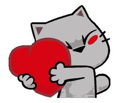 The perfect Cats Heart Hug Animated GIF for your conversation. Discover and Share the best GIFs on Tenor. Cute Cartoon Images, Cute Couple Cartoon, Cute Love Cartoons, Cartoon Pics, Cute Love Gif, Cute Cat Gif, Love You Gif, Animiertes Gif, Animated Gif