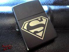 Superman Zippo by ZippoPro on Etsy, $26.95