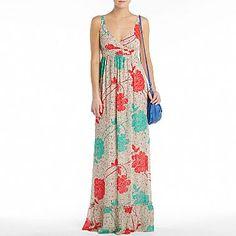 maxi dress (jc penny!)