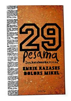 dra: 29 pesama, Enrik Kazases, Dolors Mikel / Cover for...