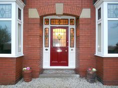 An original Victorian front door