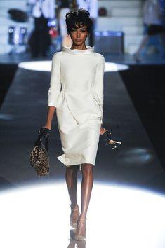 #Dsquared² #whitedress #leopard