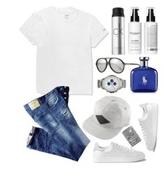 """Menswear"" by thestyleartisan ❤ liked on Polyvore featuring adidas Originals, Neighborhood, David Yurman, O'Neill, Oliver Peoples, Gentleman's Brand Co., Calvin Klein, Armani Exchange, Ralph Lauren and menswear"