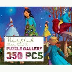 Wonderful Walk Puzzle Gallery ( Age 7  - 14 +) - Send A Toy