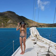 🐚🐠 The bluest waters, sailing in Whitsundays - Check out my latest blog post about Whitsundays in Australia! Link in the bio ☝🏻️☀️ @seafollyaustralia . .  #travelgirls#wearetravelgirls#wanderingwolfchild#outdoorwomen#femmetravel#free#love#freedom#sponsor#sponsorme#whitsundays Sailing, Freedom, Australia, Link, Bikinis, Water, Check, Instagram Posts, Blog