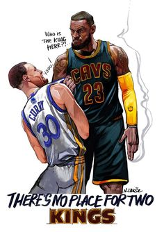 There's no place for two kings! Lebron James, Bullying, Captain America, Nba, Sketch, King, Superhero, Character, Basketball