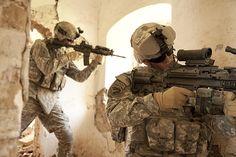 """""""U.S. Army Rangers in Afghanistan Combat"""""""