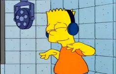 Trending GIF music the simpsons bart simpson headphones jamming feeling it Simpsons Meme, Simpsons Characters, The Simpsons Tumblr, Hipster Vintage, Style Hipster, Simpsons Springfield, Los Simsons, S Bahn, Cartoon Profile Pictures
