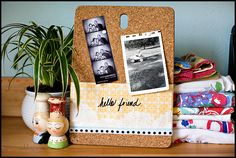 cork board dry erase clipboard