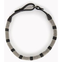Brunello Cucinelli Necklace ($955) ❤ liked on Polyvore featuring jewelry, necklaces, black, choker necklace, brunello cucinelli, leather choker, polish jewelry and geometric necklace