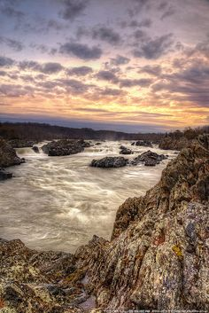 Great Falls of the Potomac, Great Falls National Park, Virginia by Tom Lussier