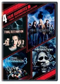 4 Film Favorites: Final Destination (Final Destination, Final Destination 2, Final Destination 3: Special Edition, The Final Destination) New Line Studios http://www.amazon.com/dp/B003PIUINS/ref=cm_sw_r_pi_dp_izROub0FKCDC3... ~$ 9.95