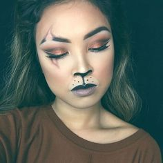 Scar - Amazing Animal Makeup Looks You Can Easily Rock This Halloween - Photos