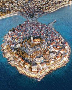 Croatia Tours, Visit Croatia, Holiday Places, World Pictures, Wonderful Picture, Urban Landscape, Aerial View, Beautiful Landscapes, Paisajes