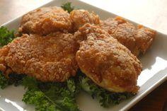 Crispy Buttermilk Fried Chicken ~ Gluten Free