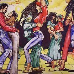 #jamaica#Dancehall #throwback Dance Art, Dance Music, Art Music, Reggae Art, Reggae Music, Jamaica West Indies, Rasta Girl, All Star, Soca Music