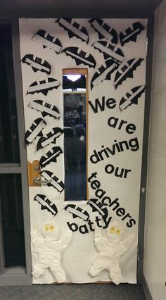 PBIS reward - October door decorating. This was the fun activity for having reached our first PBIS goal!
