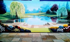 Paredes y pisos de estilo Rural por Marvellous Murals
