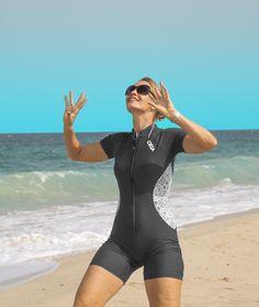 Corset Sewing Pattern, Womens Wetsuit, Vintage Swim, Italian Fashion, Fashion Fabric, Comfortable Fashion, Swimsuits, Swimwear, Sports Women