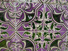 Portuguese tiles, lisbon