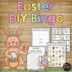 Easter bingo game diy do it yourself easter bingo and bingo games easterdiybingogamedoityourselffrom solutioingenieria Images
