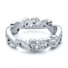 custom organic diamond eternity band joseph jewelry bellevue seattle online design