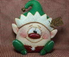 Poco cerramos Elf patrón 196 patrón de muñeca por GingerberryCreek