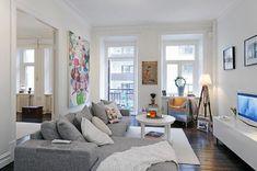 Cómo decorar un salón con muebles grises. El color gris ofrece elegancia y modernidad a los espacios. Gracias a su cualidad de ser un tono neutro se puede combinar con infinitos colores y siempre está incluído en las últimas tendencias de dec...