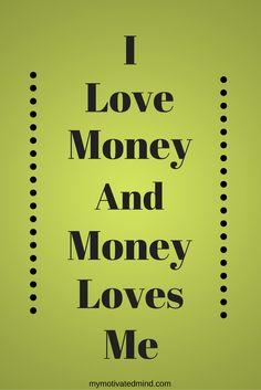 Affirmation to Manifest Money