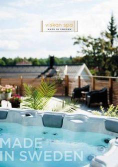 Viskan Spa - Katalog 2017/18 Spa, Outdoor Decor, Home Decor, Interior Design, Home Interior Design, Home Decoration, Decoration Home, Interior Decorating