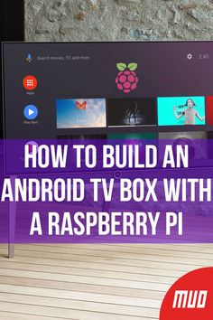 Want to cut the cord and save money on TV? Build your own Android TV box! Here's how to install Android TV on a Raspberry Pi. Android Tutorials, Android Hacks, Android Box, Best Android, Android Watch, Raspberry Computer, Raspberry Projects, Arduino Beginner, Android Library