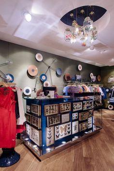 Ted Baker's Botanical Wonderland Now Open - ION Mall, Singapore Design Agency, Retail Design, Visual Merchandising, Ted Baker, Liquor Cabinet, Singapore, Mall, Storage, Creative