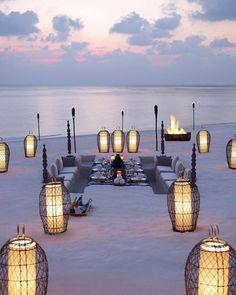 15 luoghi da sogno per una cenetta romantica sulla spiaggia | WePlaya