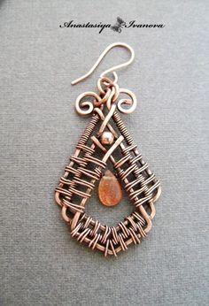 Aro de cobre viejo - Diseño Anastasiya Ivanova