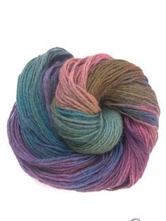 Gorgeous sport weight hand dyed Finnish wool